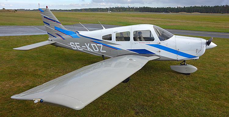 SE-KDZ Piper PA28 Warrior 160